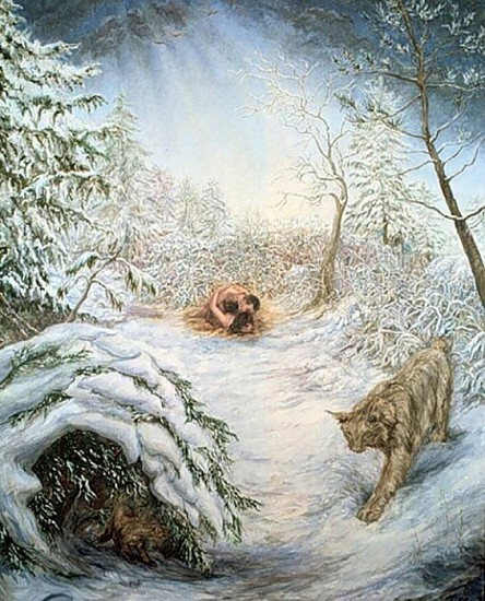 Lisa Zwerling, Winter Passion 1996, oil on canvas