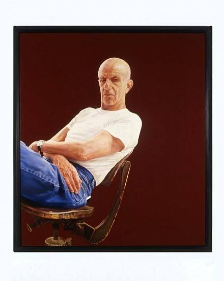 Brenda Zlamany, Portrait No 83 (Alex Katz) 2005, oil on panel