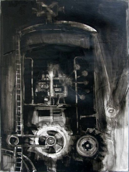 Joseph Zirker, Machine 7 2009, cast acrylic monotype