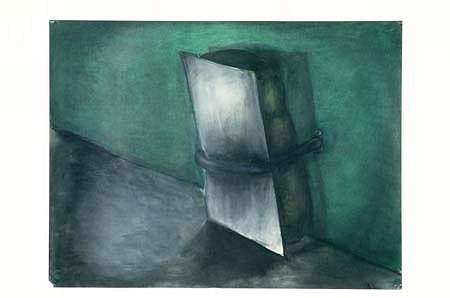 Mary Ziegler, Untitled 1987, oil on paper