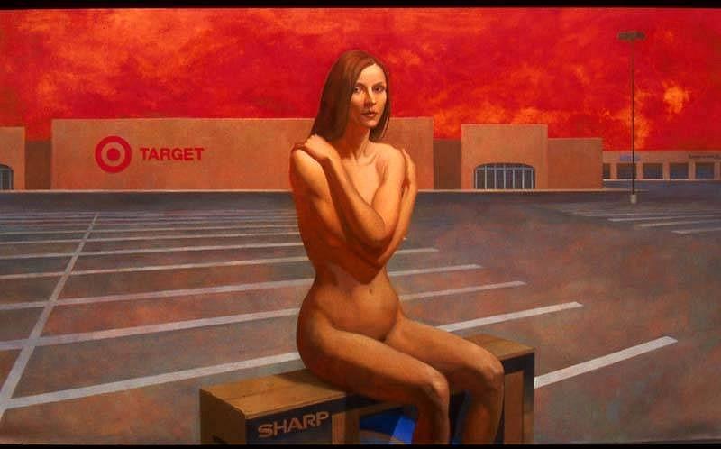Robert Zeller, Tempest 2006, oil on linen