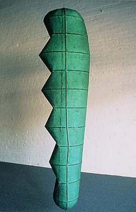 Therese Zemlin, Altered Cactus 1991, steel, paper pulp