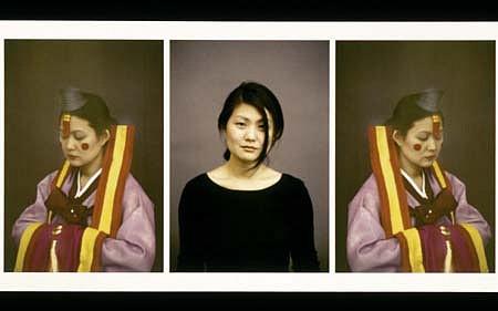 Maria Yoon, Marriage Proposal II 2001, mixed media on paper