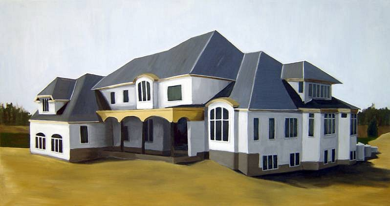 Sanders Watson, Your New Home 1# 2008, oil on panel