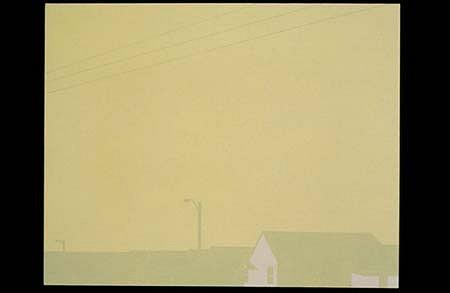 Frank Webster, Sunlight Noir 2001, acrylic on canvas