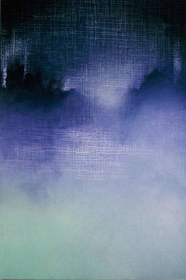 E. Jay Weiss, 9-11 Elegy- Ghost City 2002, acrylic on canvas