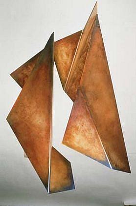 Rebecca Welz, Rift 1991, plexiglass