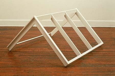 Deborah Whitman, The Roof 1986 - 1988, wood