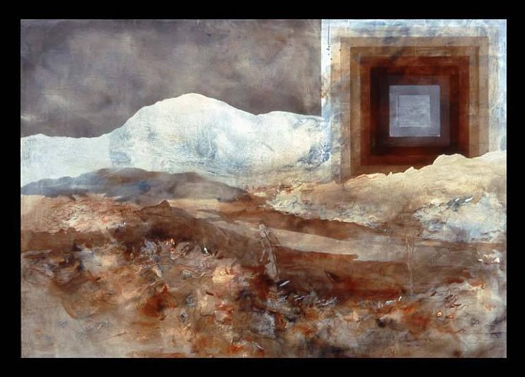 Hilary Wilder, A Long, Long Year 2005, acrylic on canvas