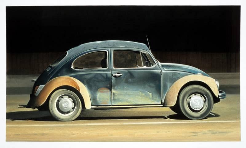 Don Williams, Night Bug 2007, pastel