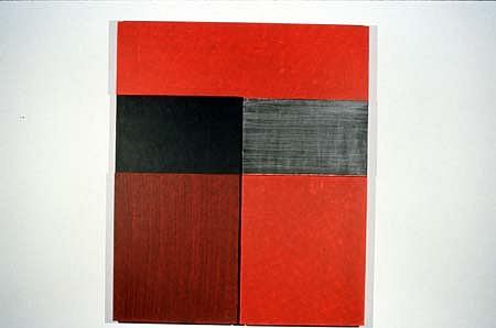 Mark Williams, Approach 1994, acrylic on panel
