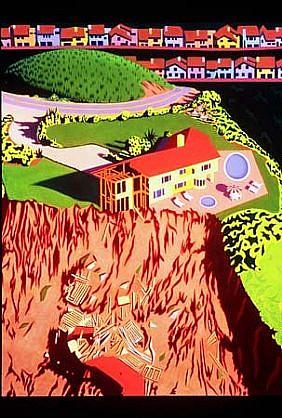 Warner Williams, Mudslide 2002, oil on canvas