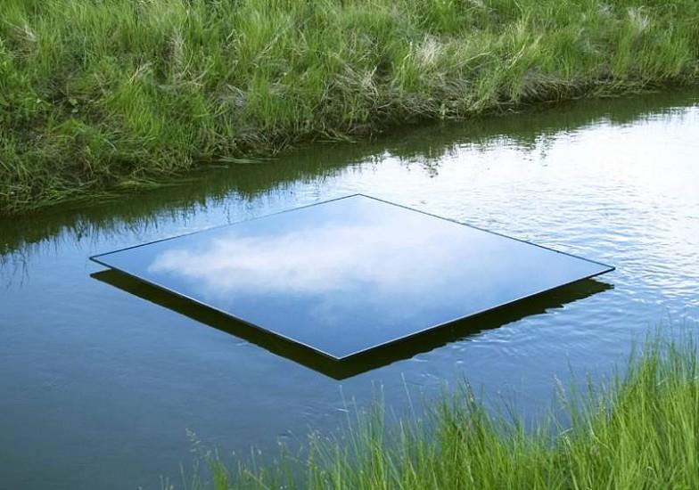 Eric Tillinghast, Water Series #67 2005, water, steel