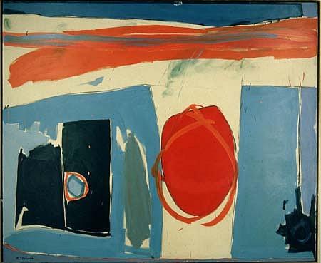 Marek Tobolewski, Hide & Seek 1989, oil on canvas