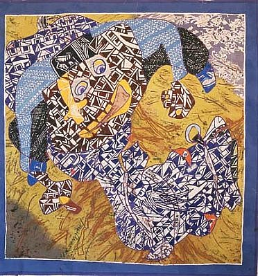 Philip Trusttum, Ride 4 1990 - 1999, acrylic on canvas