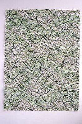 Rhonda Tymeson, Kizuki Hosho I 1998, cut watercolor