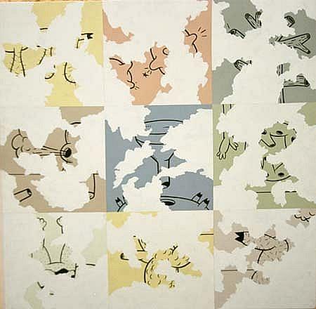 Fabian Ugalde, Nine Failures 1999, tinta serigráfica sobre vinil