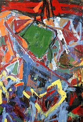 Arunas Vaitkunas, Broken Angel 1992, oil on canvas