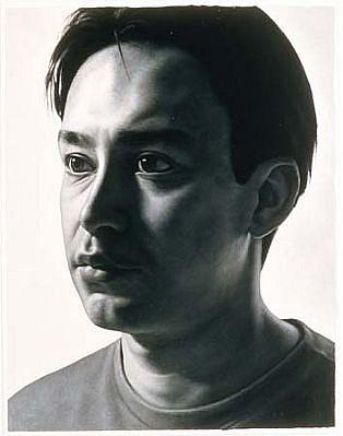 Costa Vavagiakis, Juan 1997, acrylic on paper