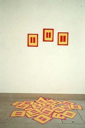 Elisa Vladilo, Untitled 1995, acrylic on canvas