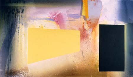 Richard Saba, Spring Expectations 2001, acrylic on canvas