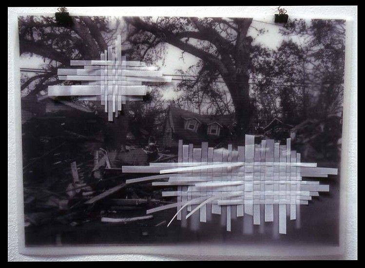 Jeff Schmuki, 2nd Street 2006, photo and mylar