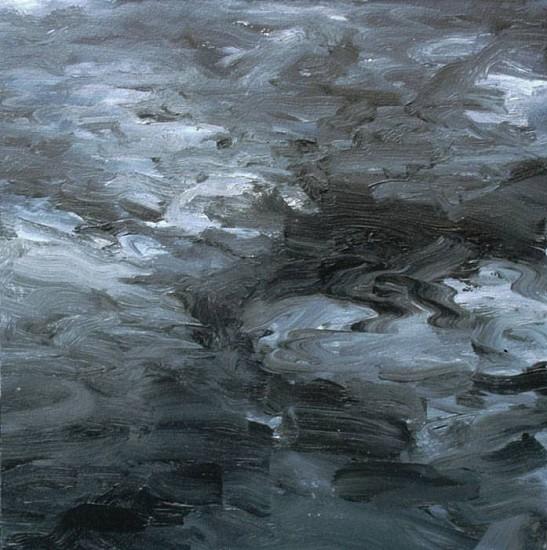 Peter Schroth, Midnight 2007, oil on paper