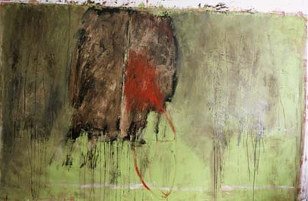 Mark Schwartz, Untitled 1991, oil on canvas