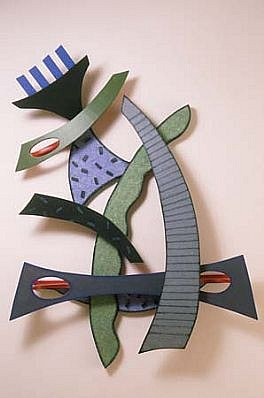 Charles Searles, Double Dutch 2000, painted wood