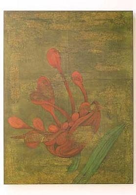 Olga Seem, Hybrid (7) 2001, acrylic on canvas