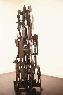 Robert Sestok, Figure Edge 1987, steel