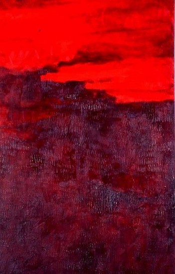 Greg Shaw, Red Rain 2005, oil on canvas