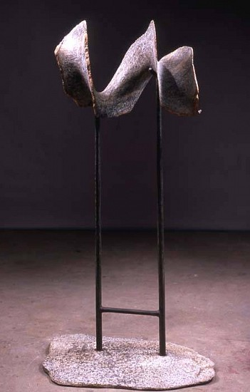 Gary Haven Smith, Fleur 2006, granite and forged steel
