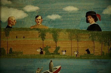 Aco Stankovski, Strange Forest 1993, oil on canvas