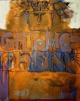 Joe Stefanelli, Uncoded Oration 1993, acrylic