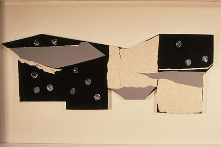 Gwen Stone, Kakura 1989, collage construction