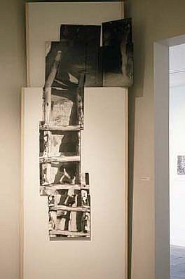 Anna Strickland, Ancient Dreams 1990, mixed media, photo, wood
