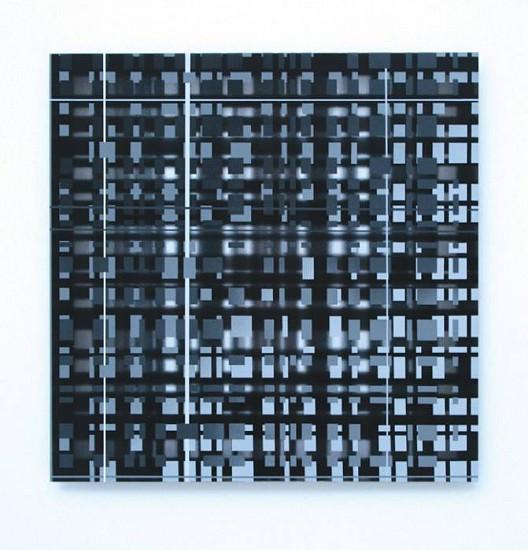James Stroud, UG-19 2009, oil on aluminum