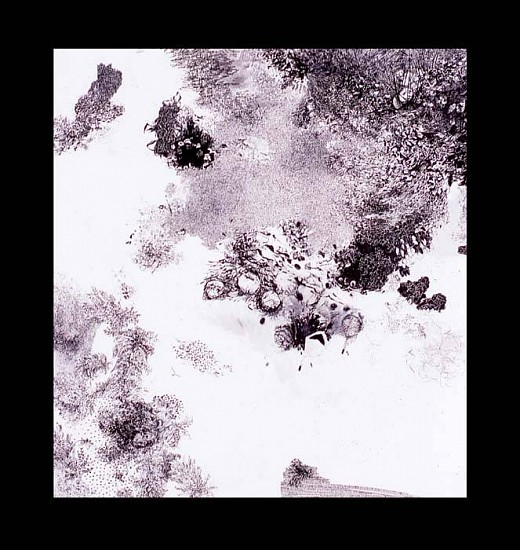 Andrea Sulzer, Above and Beyond 2005, ink on paper