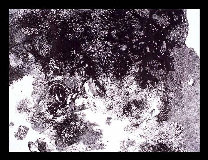 Andrea Sulzer, Around and Around 2006, ink on paper