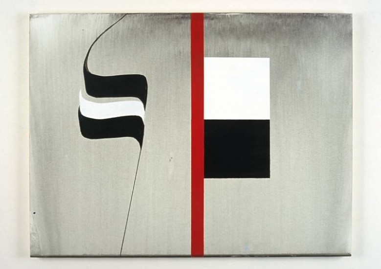 Robert Sussman, Untitled #4 2007, acrylic on panel