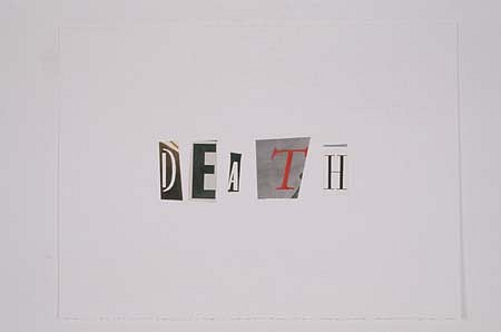 Taro Suzuki, Death 1991, watercolor on paper