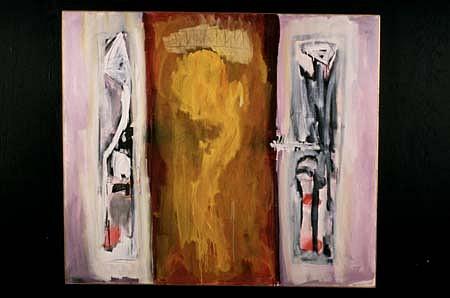 Daniel Swerdloff, Pagan Rites 1993, oil on canvas