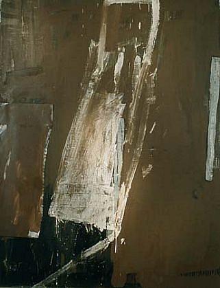 Marek Szczesny, Untitled 1998, oil on canvas, metal