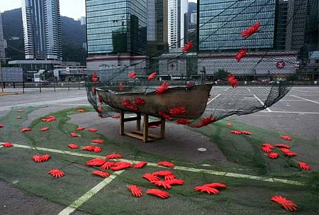 Ping Qiu, Red Crabs 2000