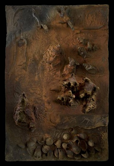 Nancy Randall, Eschaton IV 2007 - 2008, high-relief stoneware