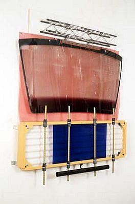 Daniel Reiser, Renegade Station 1988 - 1989, steel, rubber, plastic