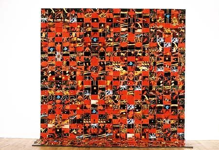 Hunter Reynolds, Love Light Series II 1997, photo weavings