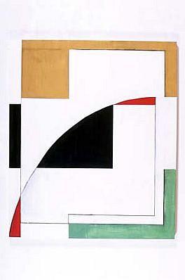 Edwin Ruda, E - 02 2002, oil on canvas