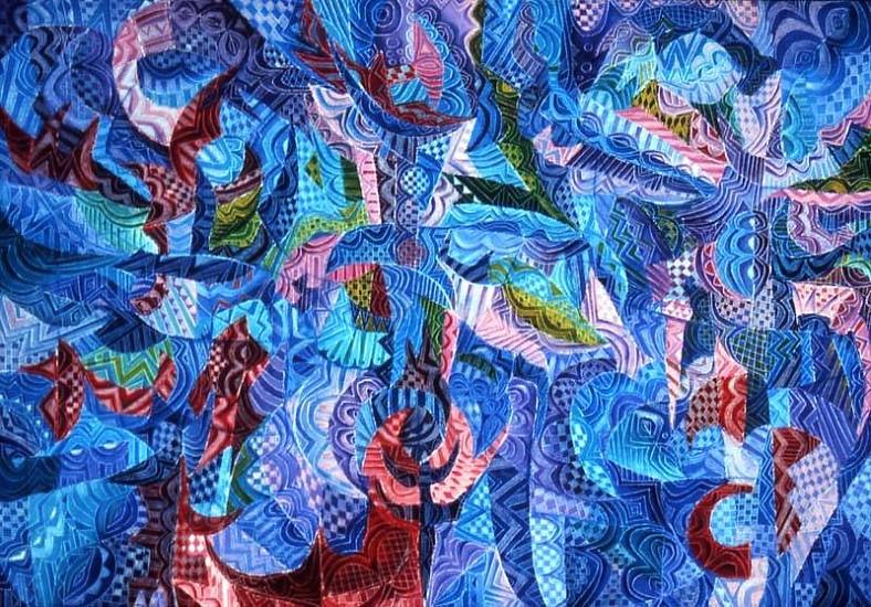 Moyo Ogundipe, Pallet of Dreams 2006, oil on canvas